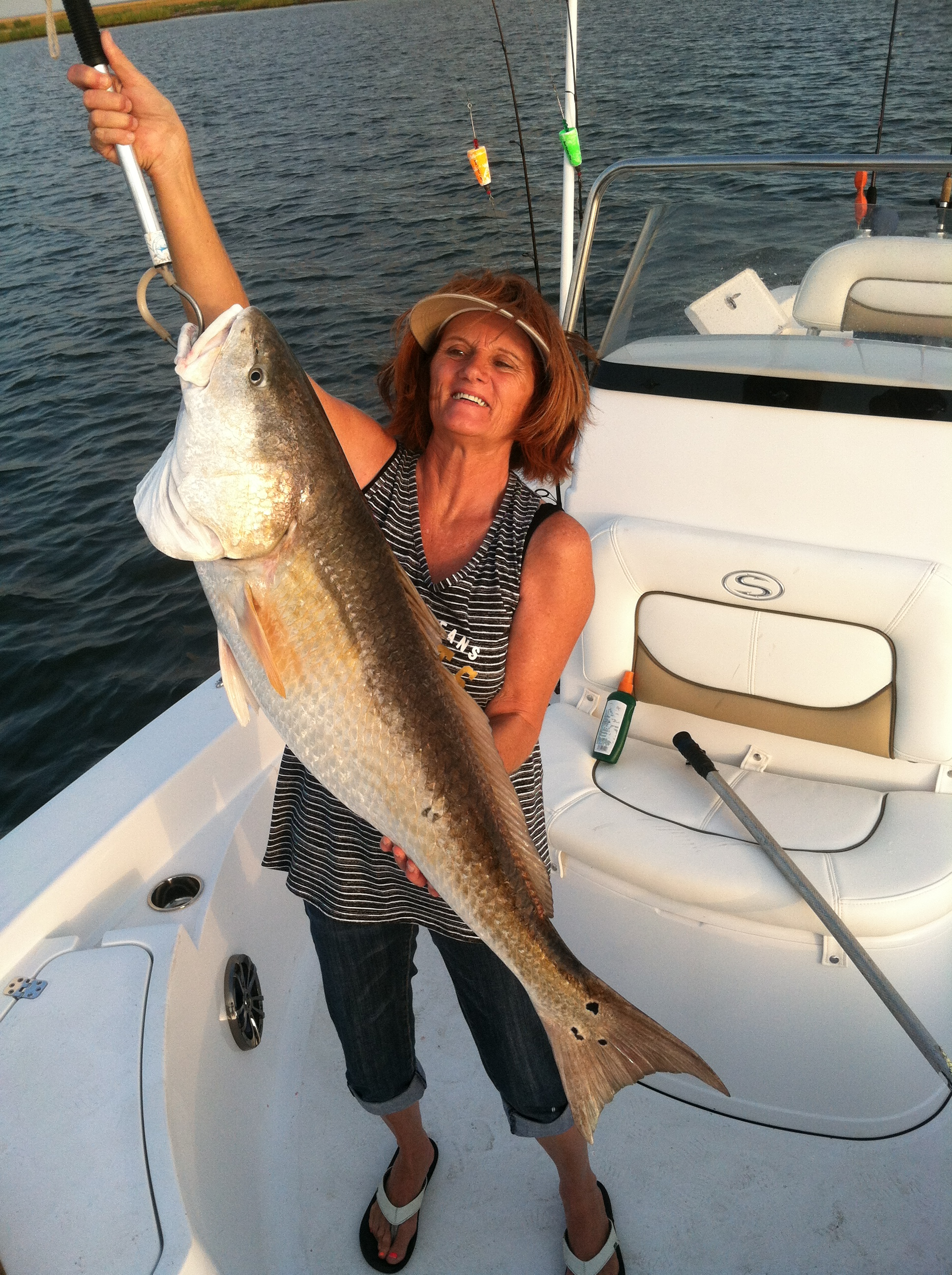 bull red fishing charters