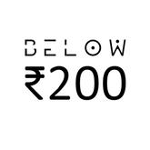 Below INR 200