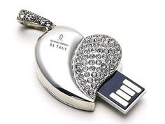 Diamond-studded USB flash drive design 2