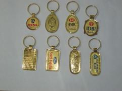 spark golden lamination band key chain1.