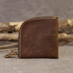 Handmade_Small_Wallet_Crazy_Horse_Leathe
