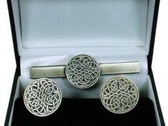 cufflinks-tie-pin-3865-never-ending-knot