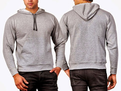 grey sweat shirt full zip hood pocket.jp