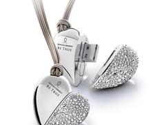 Diamond-studded USB flash drive design 1