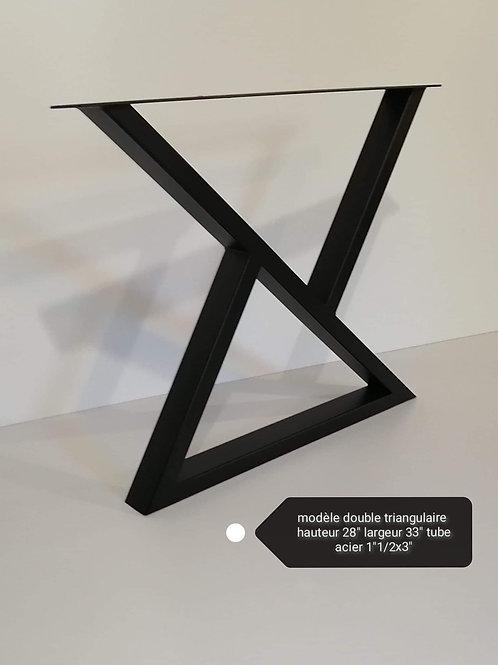 Modèle Double Triangulaire