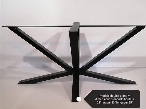 Modèle double grand V
