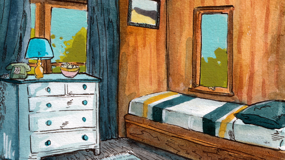 Rental Room, Day