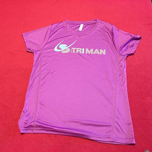 T-Shirt  S:triman mauve (F)