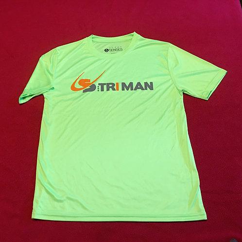 T-Shirt  S:triman  vert (H)