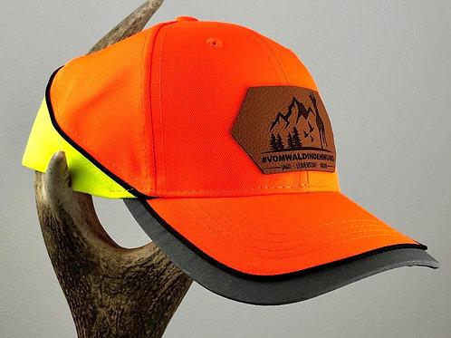 Cap in Signalfarbe - Orange