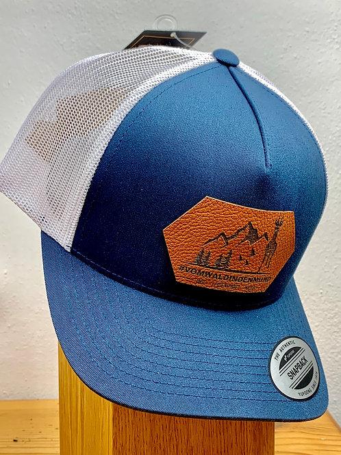 B-WARE Caps -blau/weiß 5 Paneel Snapback