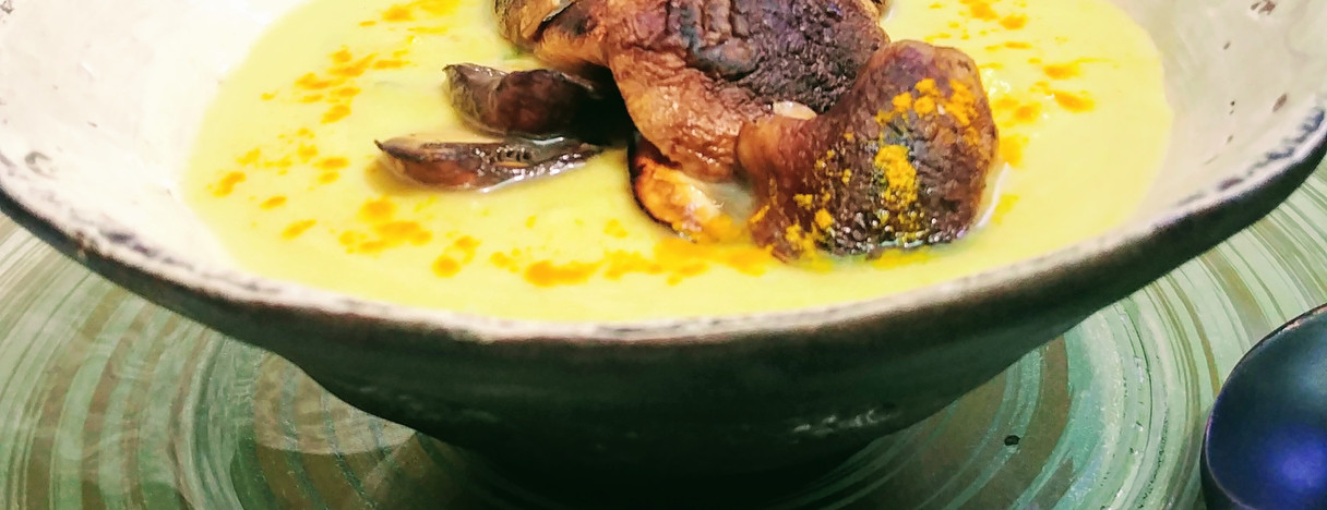 Golden Cauliflower and Miso Soup