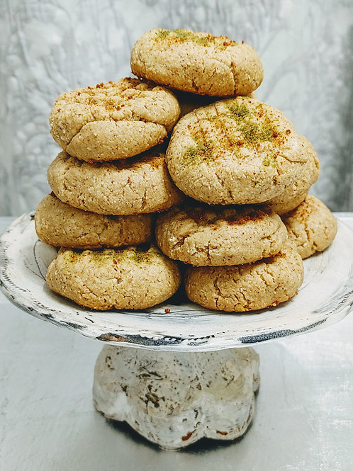 Nutty Budder Cookies   (wheat and dairy-free)
