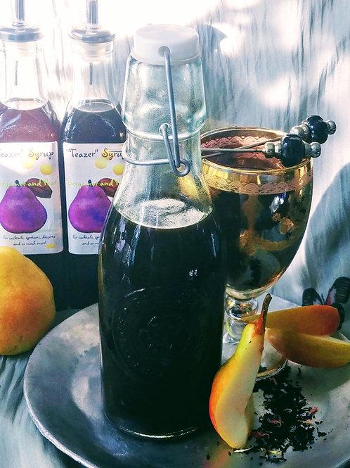 """Bergamot and Pear Botanical """"Teazer"""" Syrup"""
