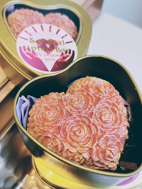 Gilded Solid Lotion Bar