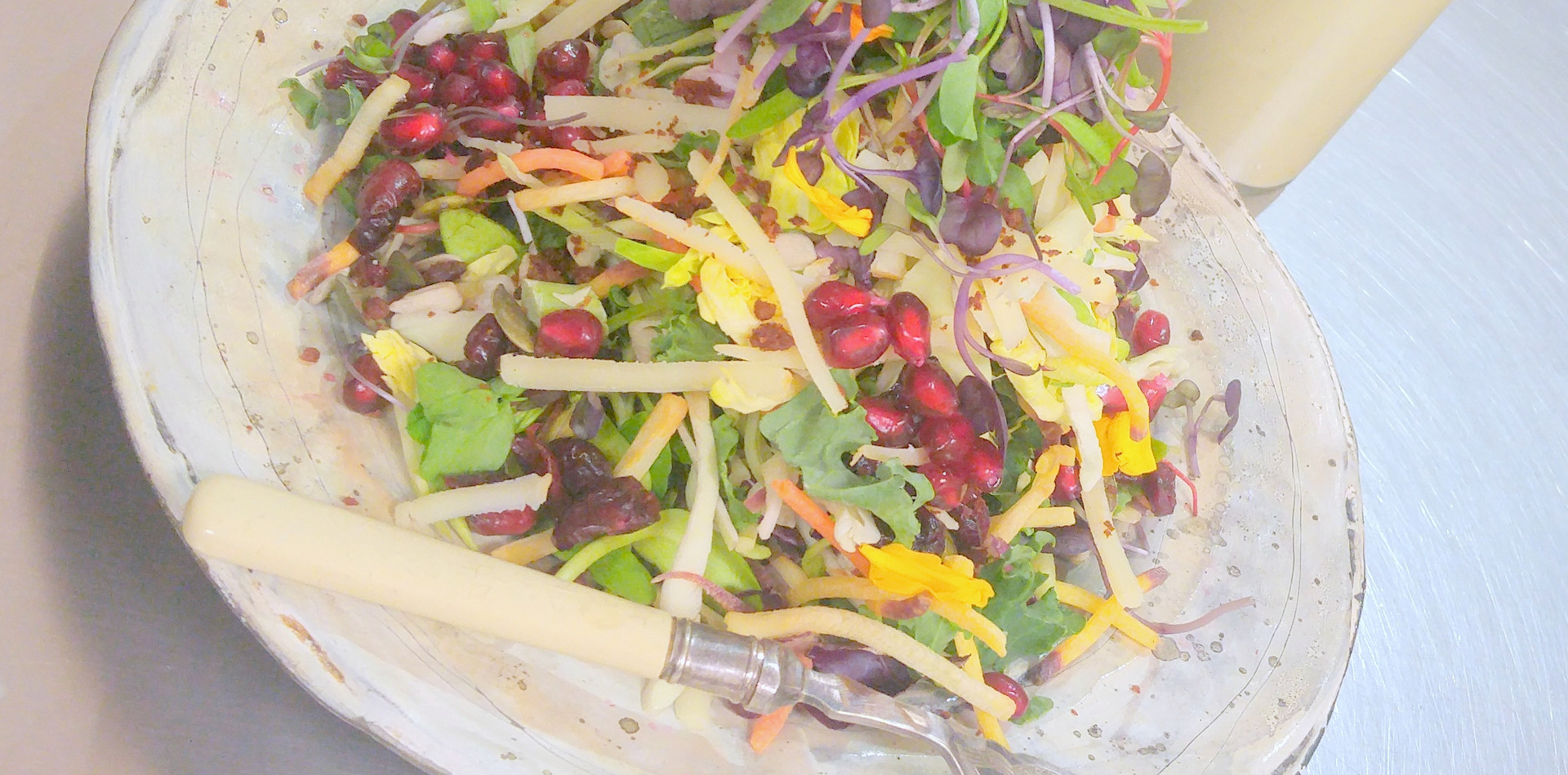 Jewelled Kale Slaw