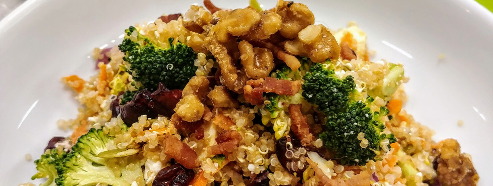 Energizing Broccoli and Quinoa Salad wit