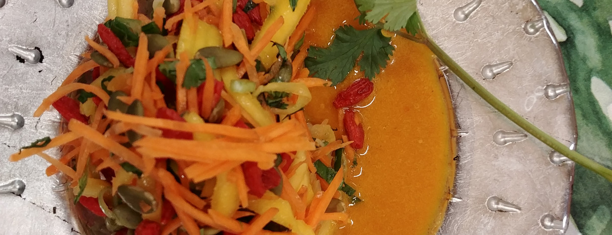 Sunburst Carrot Mango Salad