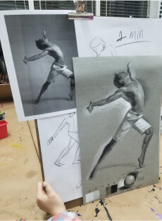 Figure Drawing Teen Intensives