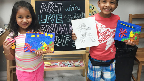 Excitement is Building for Summer Art Camp