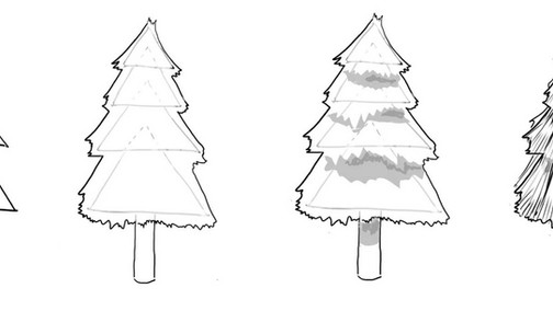 How to Draw Trees: It's All About Shapes!