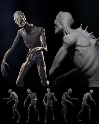 Creature Render Multiple