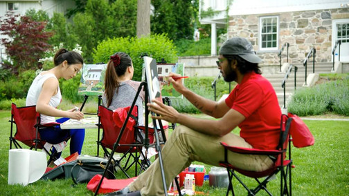 Plein Air Painting - 6 Reasons to Take Up Painting Outdoors