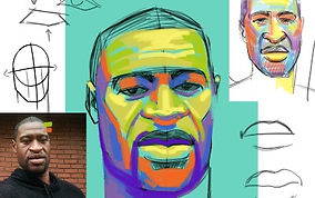 demo-digital-george-floyd-portrait-WIP-f