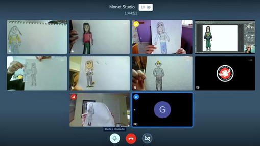 Taking Art Appreciation Virtual for Kids