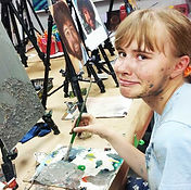 The creative process is a messy one! Art Hub Markham