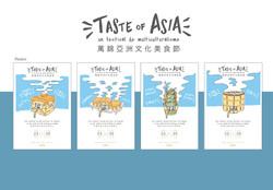 Taste of Asia - Festival Branding