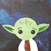 baby yoda artwork