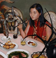 Fei Lu WInged Canvas