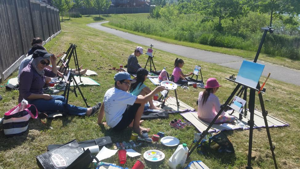 Plein Air Painting Summer Art Camp Markham