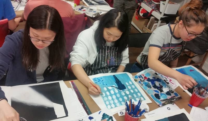 Illustration Collaborative School Workshop
