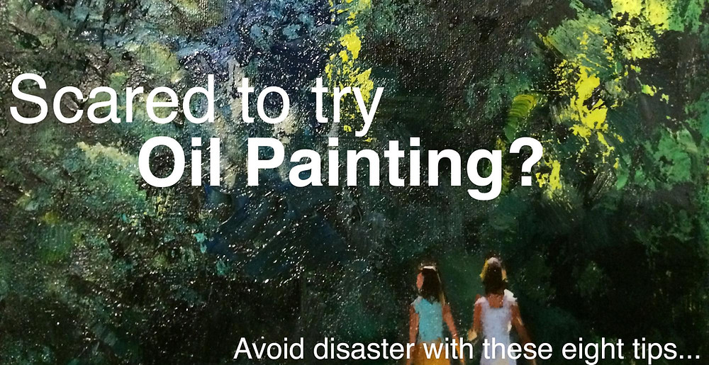 Avoid oil painting disaster with these tips