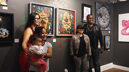 Art exhibition at Markham's Art Hub