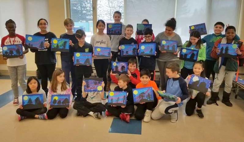 Elementary School Painting Workshop