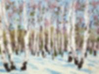 elena-dinissuk-birch-trees-palette-knife