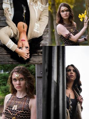 Jewelry Design Fashion Shoot 2014