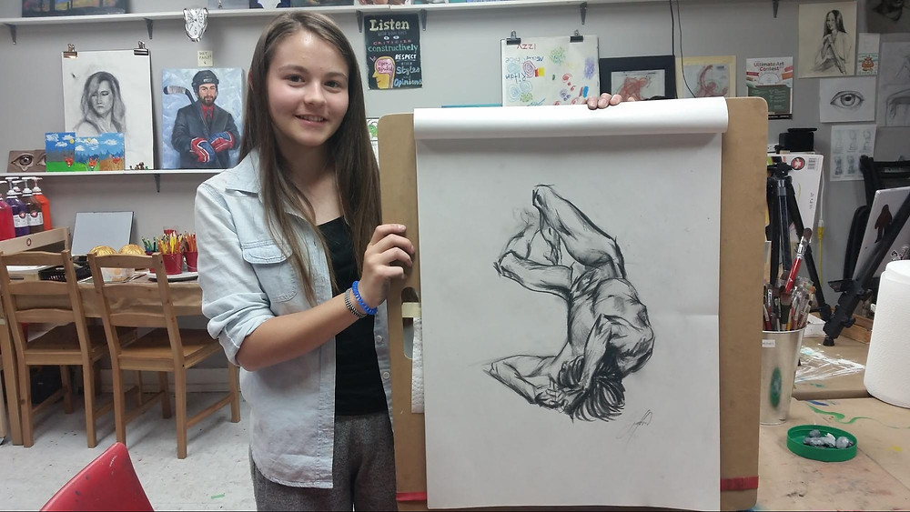 Art Mentorship with Fei Lu at Winged Canvas, Markham