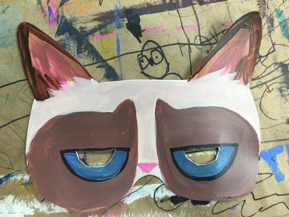 Internet Pet Mask Winged Canvas