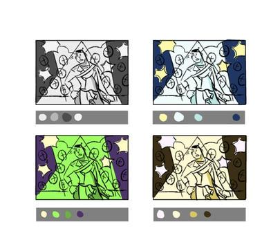 Composition Colour Key