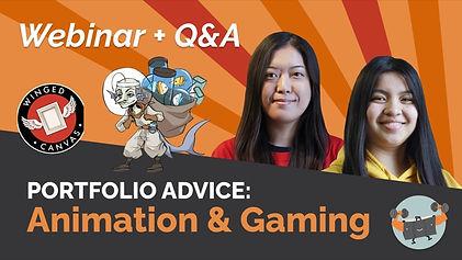 Portfolio Advice - Animation & Gaming.jp
