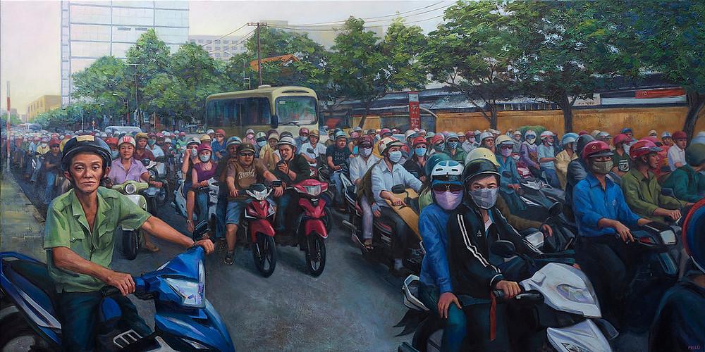 Traffic, Travel Memoirs, Fei Lu Art