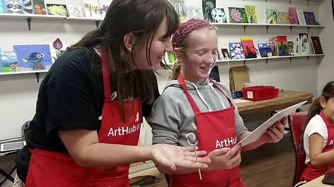 juliet and izzy working together teacher