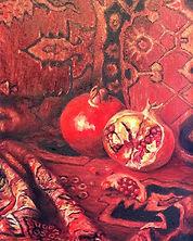 Still-Life-with-Pomegranates,-Hripsime-M