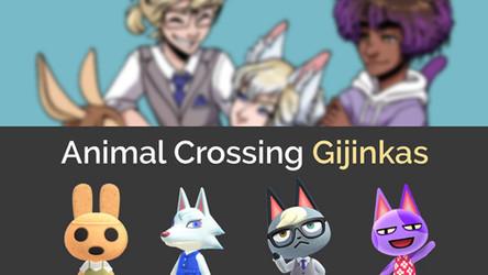 Animal Crossing Gijinkas: A character design challenge