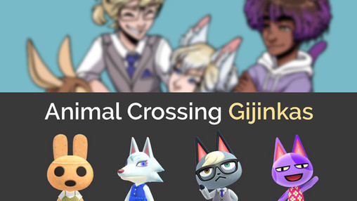 Animal Crossing Gijinkas: A character design challenge