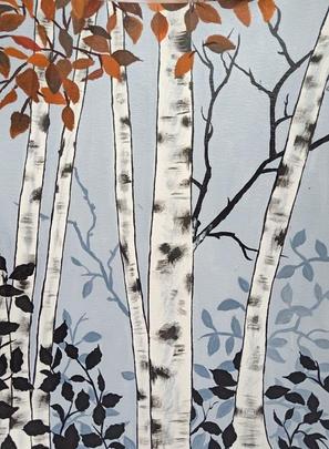 The Autumn Birch